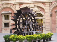 ruota idraulica, etnografico