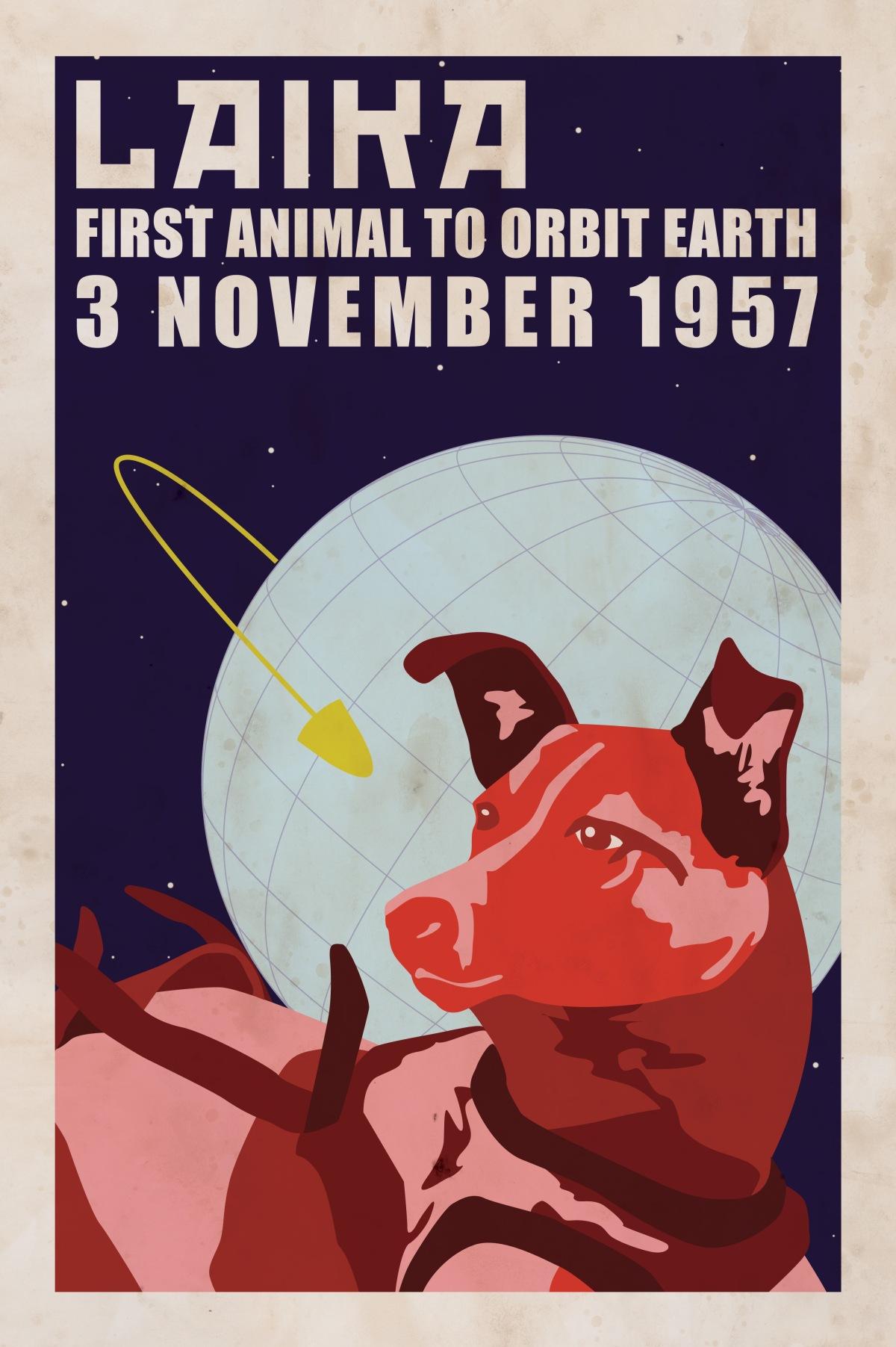 LAIKATECI! Il 3 novembre e la conquista dellospazio