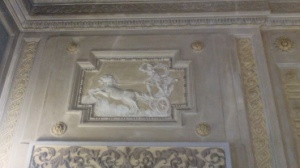 neoclassico, stucco, biga