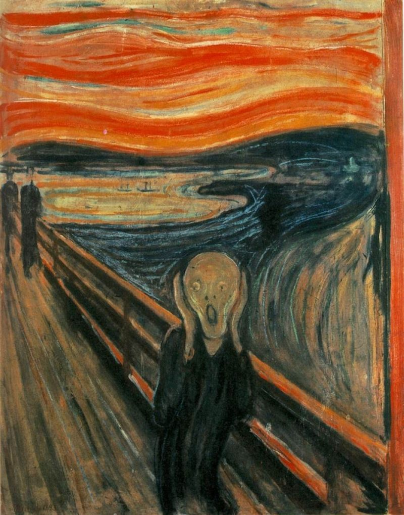 Edvard Munch –L'urlo