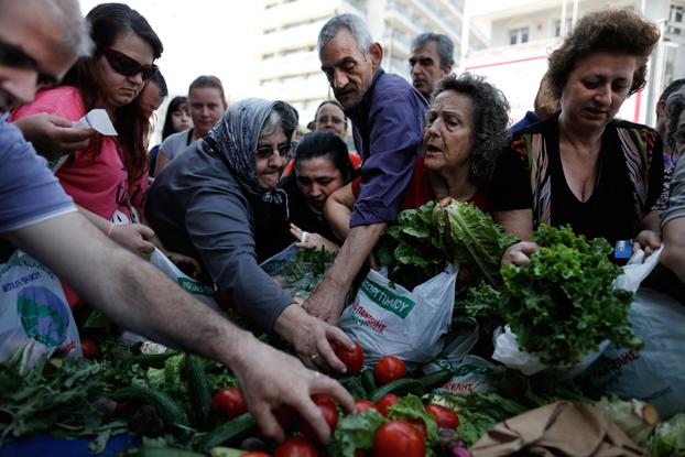 La fame in Grecia (immagine tratta dal web)