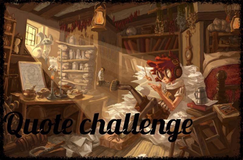 Quote challenge –3°