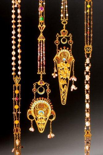 Art Nouveau 'Chaine de Corsage' by Fouquet and Mucha