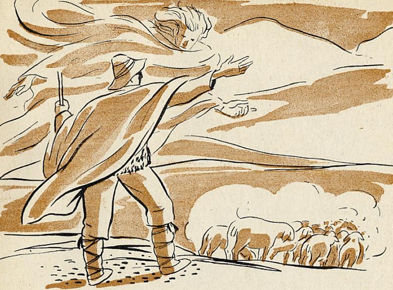 """Marzo ha trentun giorni. La leggenda di """"Marzo e il pastore"""" ormaidimenticata."""