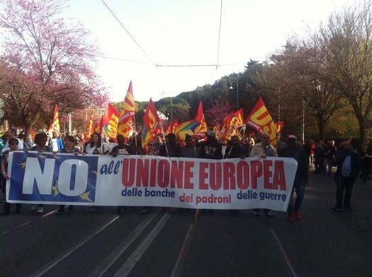 ROMA: CANCELLATO SUI MASS MEDIA IL SUCCESSO DELLA MANIFESTAZIONE DIEUROSTOP