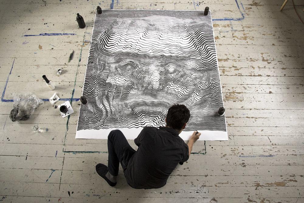 Arte e curiosità – Disegno – Le geografie umane di CarlKrull