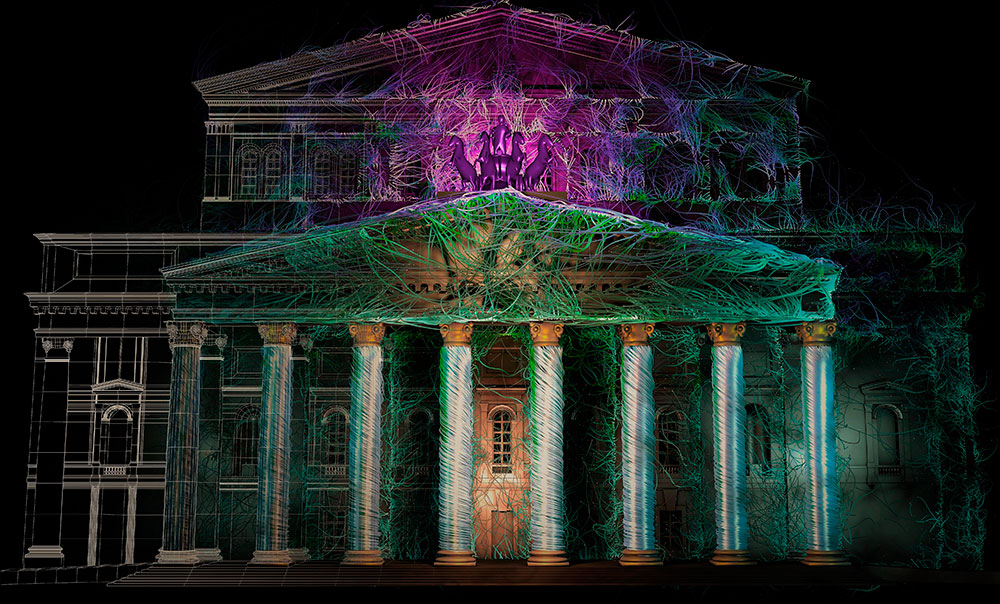 Arte e curiosità – Video mapping – La sperimentazione digitale di Michele Pusceddu